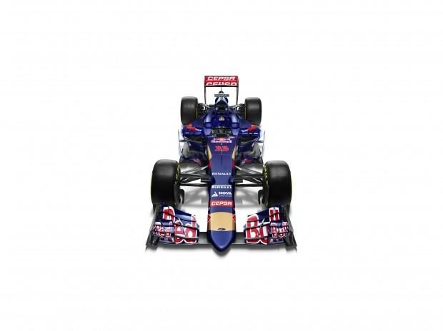 O STR10, modelo da Toro Rosso apresentado hoje em Jerez (Divulgação)
