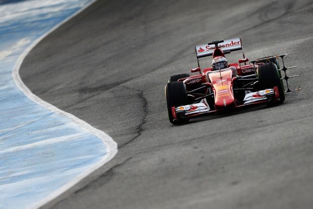 Raikkonen, que fez o melhor tempo dos quatro dias de testes em Jerez (Divulgação)